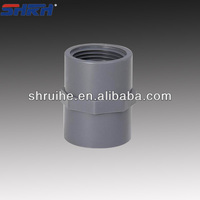 pvc pipe fitting grey