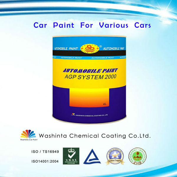 Auto Repair Paint Process 1k Car Paint White Pearl