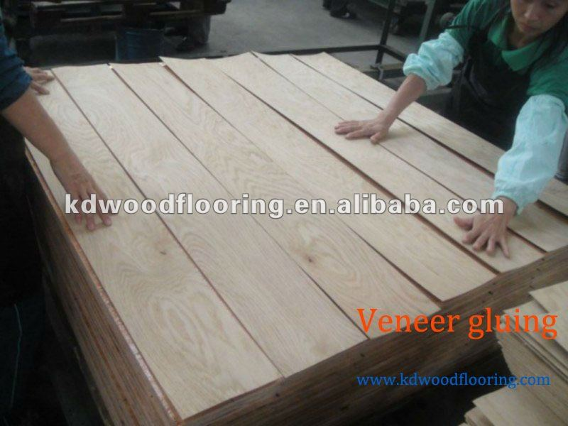 Cheap price Red Oak Engineered Wood Flooring