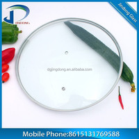 High Quality stainless handle and glass cover