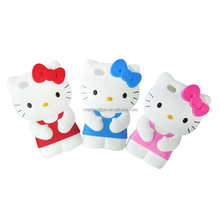Sedex Factory 3D Hello Kitty Phone Case Cartoon Silicone Phone Cover