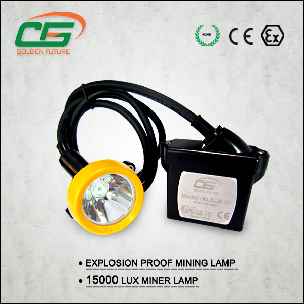 1W IP65 rechargeable waterproof led mining headlamp