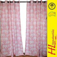 Competitive price high quality modern latest design window curtain,blackout curtain