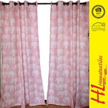 modern latest design window curtain,material /color/size custom curtain