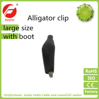 Alligator Clip with boot large size
