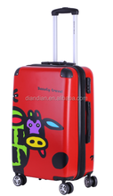 New style ABS+PC ALUMINIUM FRAME LUGGAGE TROLLEY CASE ABS luggage carry on luggage