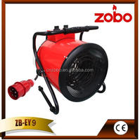 Store electric air fan heater 9 kW