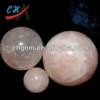 Natural Gemstone Pierre Quartz Rose Sphere
