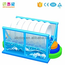 hot sale indoor play center child inflatable water roller soft play equipment