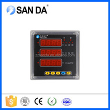 Multi-meter three-phase Multimeter multifunction ac panel meter with AO for Measuring & displaying U I W Hz COS Kwh