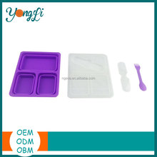 Newest Wholesale Non-Toxic Square Thermo Food Container