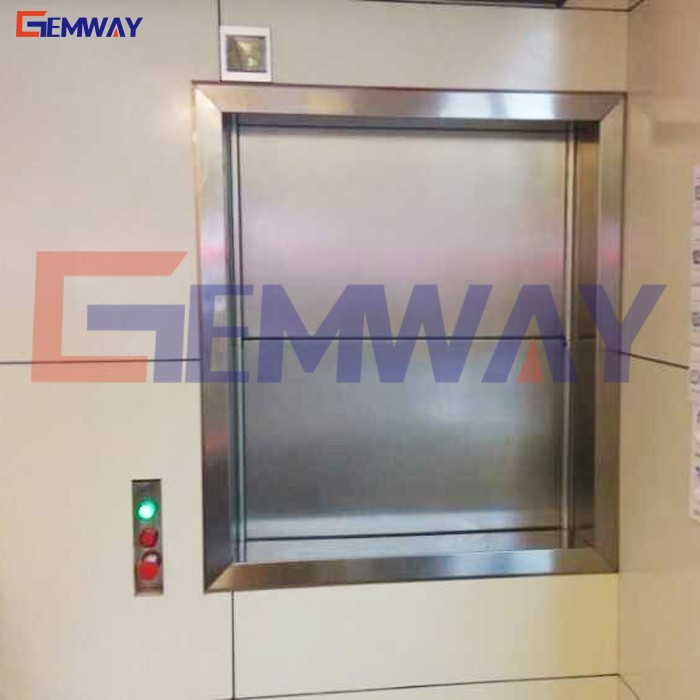 CE approved small vertical food dumb waiter cheap price