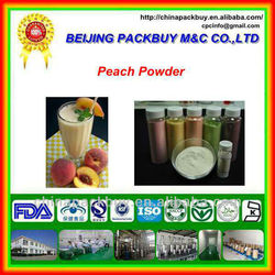 100% Natural Peach Fruit Juice Concentrate Powder:Peach Powder