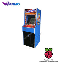 Donkey Kong Galaga Upright Coin Operated Arcade Game machine with Raspberry Pi 3 system