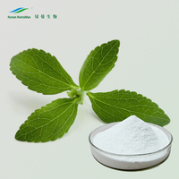 Organic Stevia Extract 97% 98% Rebaudioside A Powder
