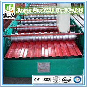 Hot sale prepainted galvanized corrugated metal roofing sheet and walls
