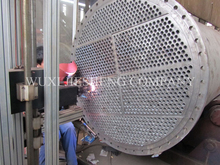 SS316L shell and tube heat exchanger for sulfuric acid