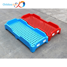 3-6 age kindergarten plastic safty folding crib bed for kids and baby