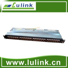 Cat5E cat6 UTP 24 ports krone Patch Panel