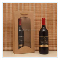 make christmas 2 bottles wine gift bags