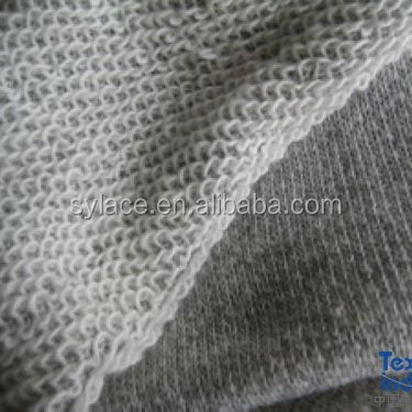Good quality terry wool fabric,100 cotton french terry knitted fabric, french terry fabric