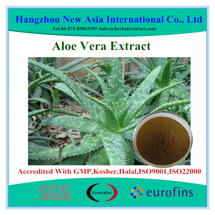 High Quality Aloe Vera Extract Aloin 20%-98% HPLC