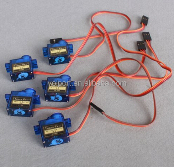 Genuine Mini SG90 Micro 9g Servo For 450 RC Helicopter Airplane Car Boat