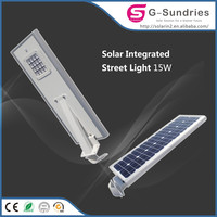 Attractive design 120w solar powered street light