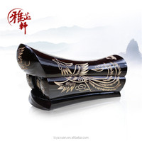 Chinese Fengshui Home Decoration Pieces Wooden Caskets For Ashes Or Jewelry Box