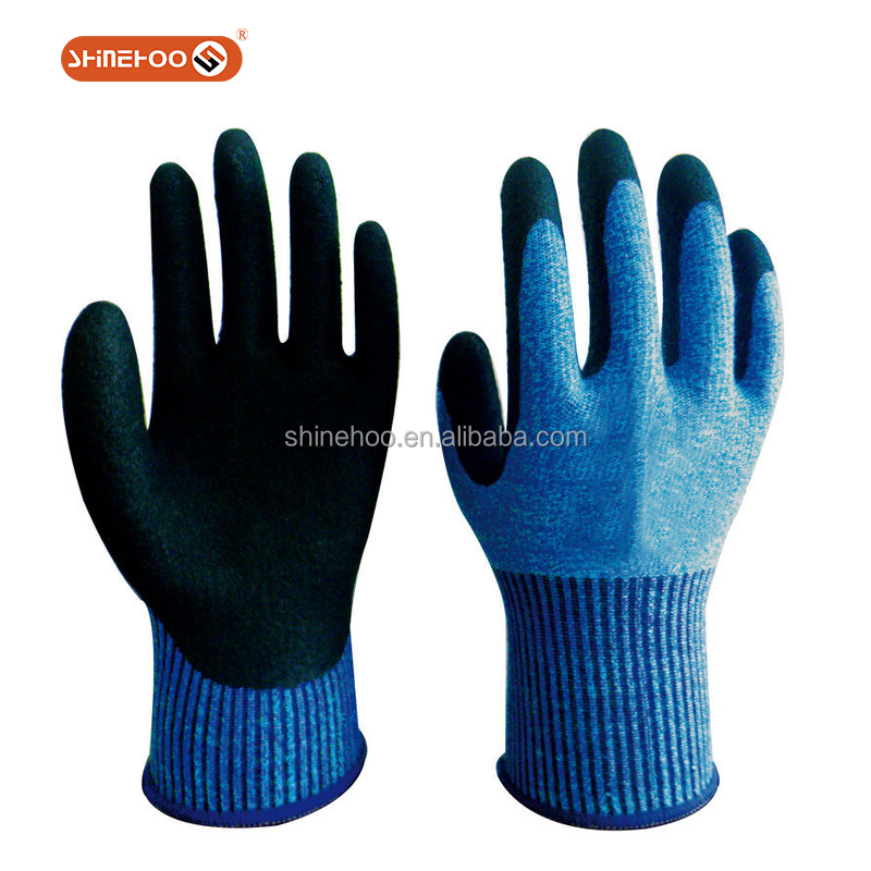 SHINEHOO Glass Fiber Anti-cut Work Gloves For Cutting Work