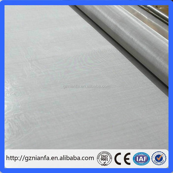 304 316L stainless steel wire mesh with good resistance to heat acid alkaline (Guangzhou factory)