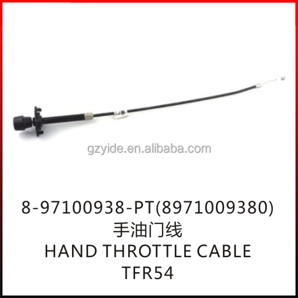 TFR HAND THROTTLE CABLE/OE:8-97100938-PT(8971009380)