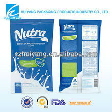 customized printed packaging material pyramid packaging milk