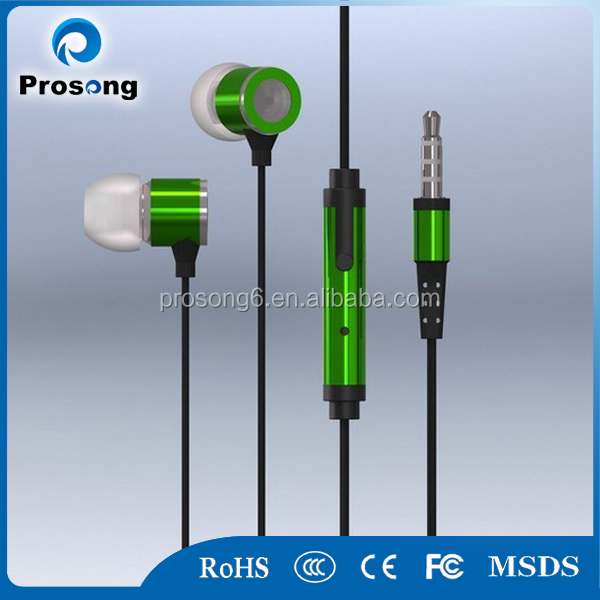Newest ultimate noise isolating stereo earphone for spy earpiece