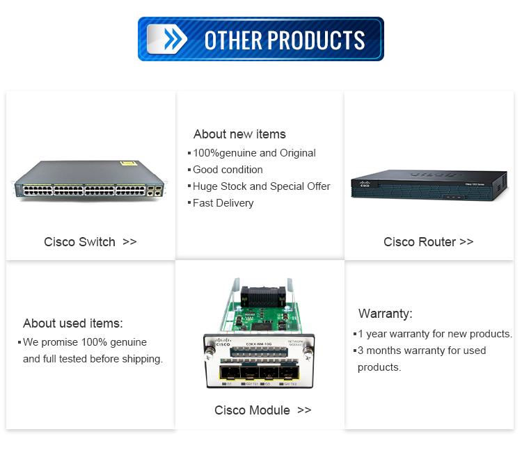 Módulo Serial para router 1841 2801 2811 2821 3825 3845