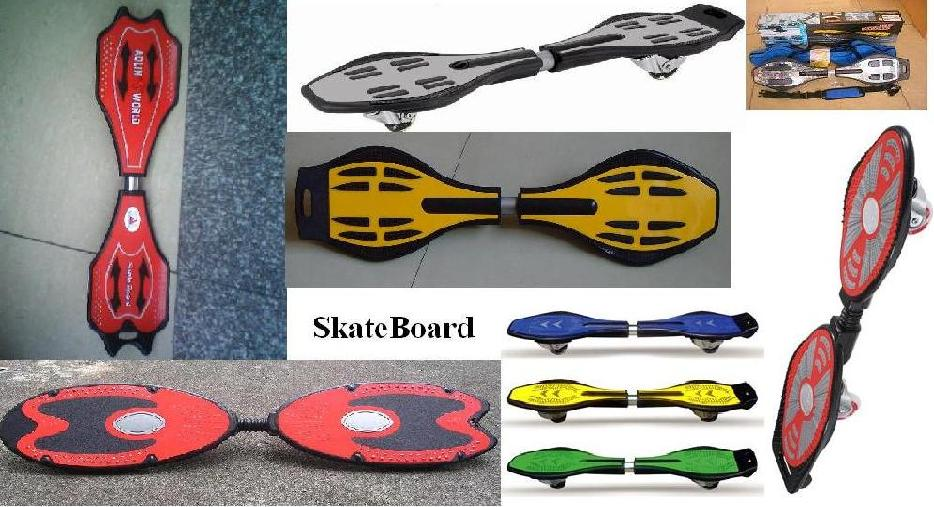 Skate Board Rocking Skateboard Vigor Board Snake Wave Street Surfing Board Surfer