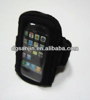 sport Neoprene armband for iphone 4 4s 5 -Black