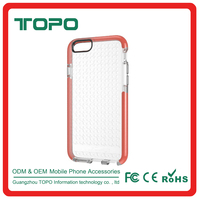 2016 New High Quality Transparent Waterproof TPU Mobile Phone Case for iPhone 6 6s plus
