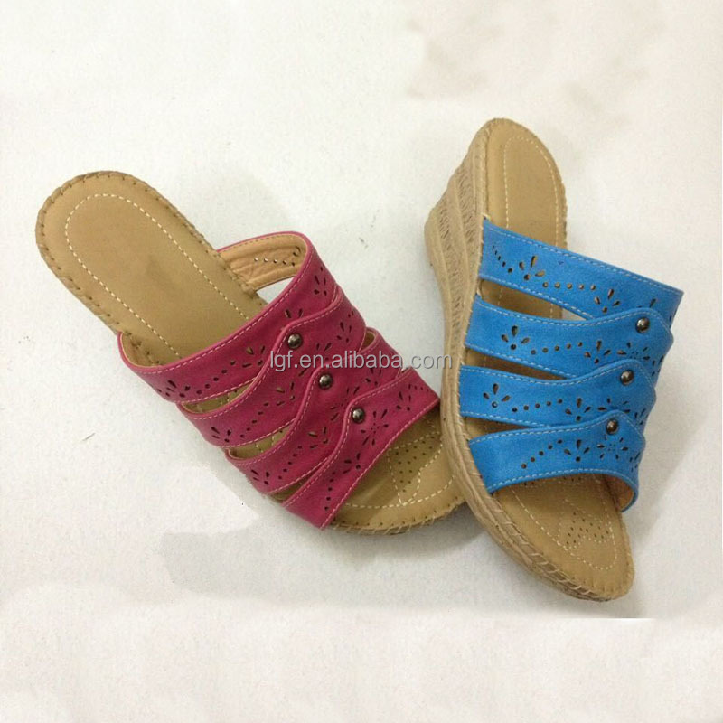 China Factory wholesale women cheap shoes cheap sandals low price lady sandals