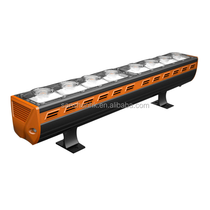 factory price high brightness waterproof IP65 aluminum housing 80W led linear light outdoor with 3 years warranty