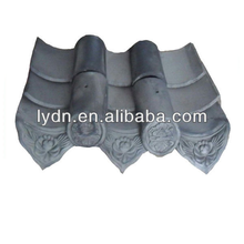 Japanese building material grey clay roof tiles for sale