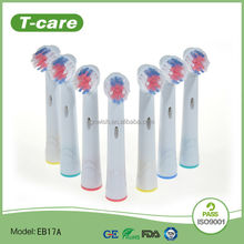 Electric Toothbrush Replacement Brushes EB-17A For Oral B