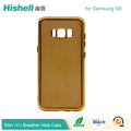 New Breather Hole Clear TPU Back Cover for Samsung S8