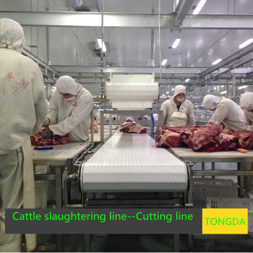 Cutting and deboning packaging equipment--Slaughtering line