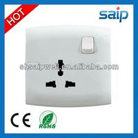 Hot sale British Standard ISO9001 MF metal clad switched socket