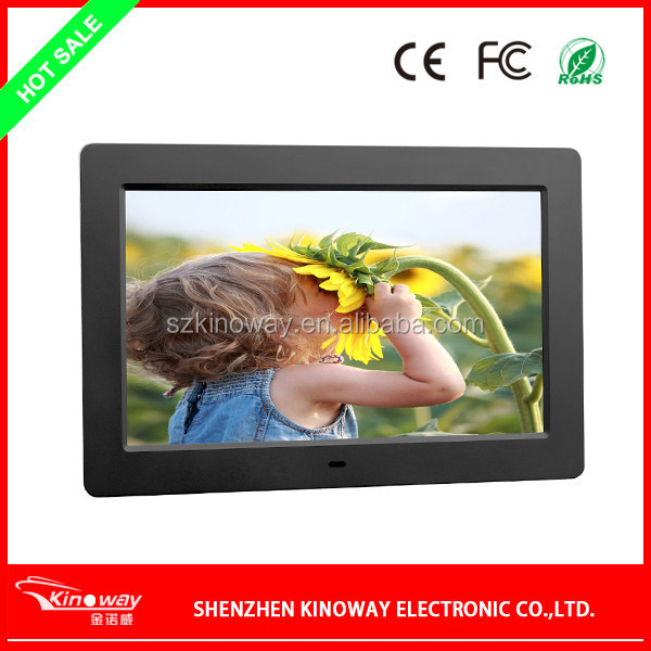 Wholesale 10 inch LCD screen Digital Photo Frame/Electronic Picture Display/MP4 Video Media Player with Remote/SD Card