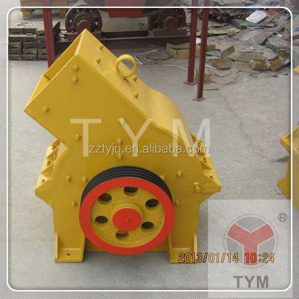 Zhengzhou TYM factory supply Plastic gypsum crusher/hammer crusher/hammer mill