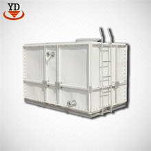 Light weight fiberglass portable water tank for enterprises and institutions