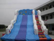 Interesting slide!!!!inflatable skiing slide,colourful inflatable slide,bouncer slide inflatables
