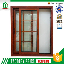 2017 Modern house aluminum windows style of window grills design for sliding